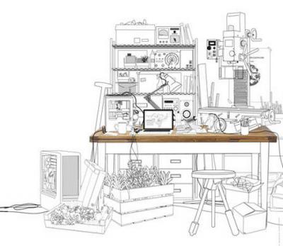 Ateliers des possibles — Fablab, makers — Au Cnam avec Lise et Dicen-Idf Les 15 et 16 mai 2014