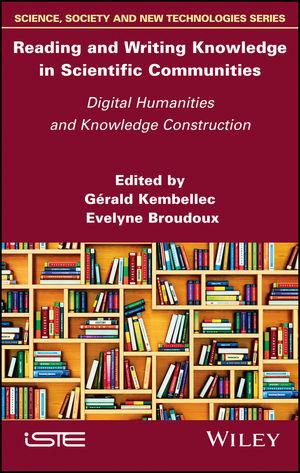 Couverture de la version anglaise de l'ouvrage coordonné par Évelyne Broudoux et Gérald Kembellec sur l'Ecrilecture scientifique