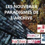 Logo du séminaire Nouveaux Paradigmes de l'archive